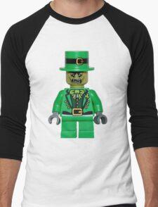 zombie leprechaun Men's Baseball ¾ T-Shirt