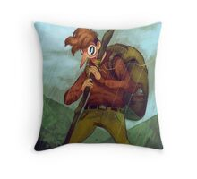 There Are Mountains to Climb Throw Pillow