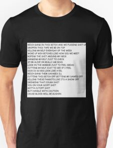 BAD RAP LYRICS T-Shirt