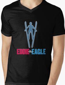 Eddie the eagle Mens V-Neck T-Shirt