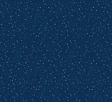 Starry Night Sky  by railwaypatterns