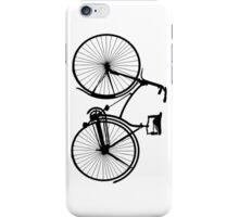 Black Bike iPhone Case/Skin