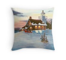 Polaris Sunset Throw Pillow