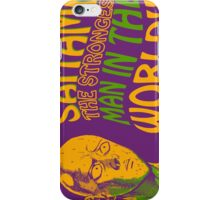 The strongest man in the world iPhone Case/Skin