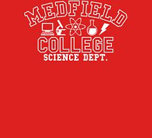 Medfield College Science Dept. Unisex T-Shirt