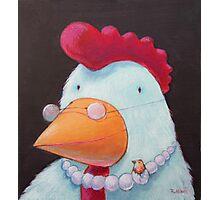 Chick- baby Photographic Print