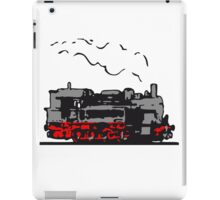 dampflok locomotive old romance iPad Case/Skin