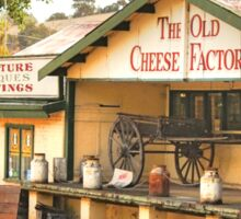 Old Cheese Factory, Balingup, Western Australia. Sticker