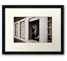 Take Care Framed Print