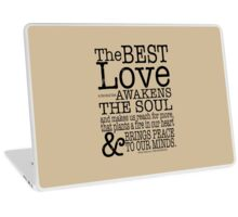 The Notebook Ryan Gosling Quote Laptop Skin
