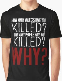 The Walking Dead Killer Questions Graphic T-Shirt