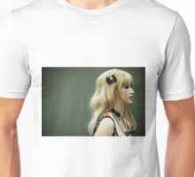 With a Black Bow Unisex T-Shirt