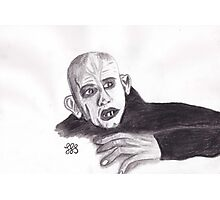 Nosferatu Much Photographic Print