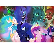 Broken Princesses MLP Fanart Photographic Print