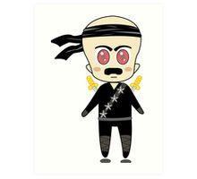 Chibi Ninja Art Print