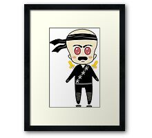 Chibi Ninja Framed Print