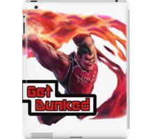 Dunk Master Darius, Get Dunked iPad Case/Skin