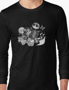 Day of the Dead Jack and Sally Long Sleeve T-Shirt