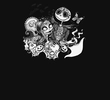 Day of the Dead Jack and Sally Women's Fitted Scoop T-Shirt
