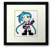 Jinx, the loose cannon #2 Framed Print