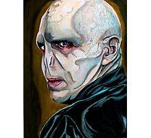 Lord Voldemort Photographic Print