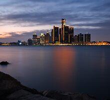 Detroit International Riverfront by akeyphoto