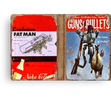 Guns and Bullets (The Future of Hunting?) Canvas Print