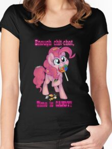 Pinkie Pie - Time is CANDY! Women's Fitted Scoop T-Shirt