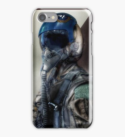 """""""Air Force Test Pilot"""" iPhoneography iPhone Case/Skin"""