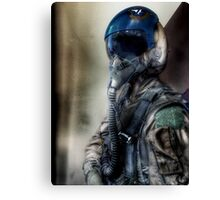 """Air Force Test Pilot"" iPhoneography Canvas Print"