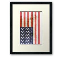 Flag USA Framed Print