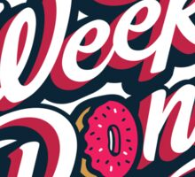 WeeklyDonut Podcast Logo Sticker