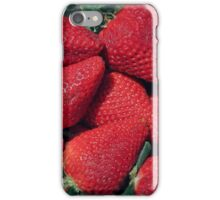 Berry Red!! iPhone Case/Skin