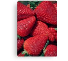 Berry Red!! Canvas Print