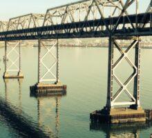 bay bridge Sticker