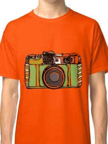 Vintage camera and bicycles Classic T-Shirt