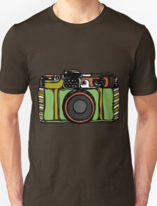 Vintage camera and bicycles T-Shirt