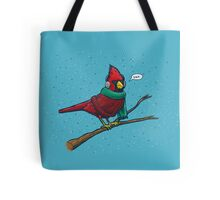 Annoyed IL Birds: The Cardinal Tote Bag