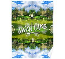 Swan Lake Belvedere Pavilion Versailles Petit Trianon France Poster