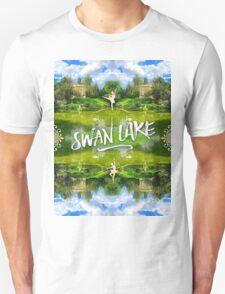 Swan Lake Belvedere Pavilion Versailles Petit Trianon France T-Shirt