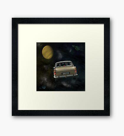 Travellers 2 Framed Print