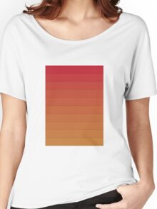 Layers (Orange) Women's Relaxed Fit T-Shirt