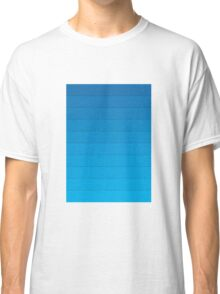 Layers (Blue) Classic T-Shirt