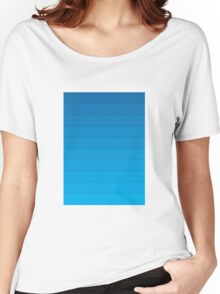 Layers (Blue) Women's Relaxed Fit T-Shirt