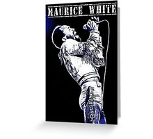 maurice white Greeting Card