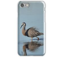 White Faced Heron. iPhone Case/Skin