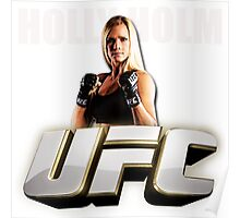HOLY HOLM UFC Poster