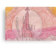 Citadel on Gallifrey Canvas Print