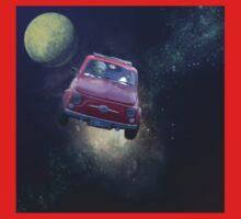 Bella in Space - by Anne Winkler Kids Tee