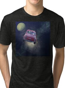 Bella in Space - by Anne Winkler Tri-blend T-Shirt